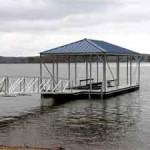 Aluminum Docks on Logan Martin Lake